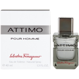 Salvatore Ferragamo Attimo toaletní voda pro muže 40 ml