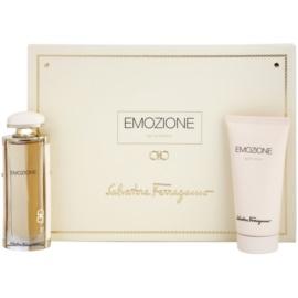 Salvatore Ferragamo Emozione lote de regalo III  eau de parfum 50 ml + leche corporal 100 ml