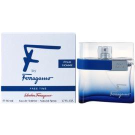 Salvatore Ferragamo F by Ferragamo Free Time туалетна вода для чоловіків 50 мл