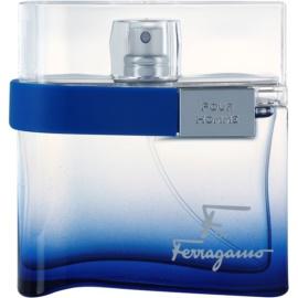 Salvatore Ferragamo F by Ferragamo Free Time eau de toilette pour homme 50 ml