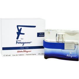 Salvatore Ferragamo F by Ferragamo Free Time Eau de Toilette für Herren 30 ml