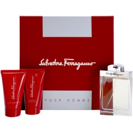 Salvatore Ferragamo Pour Homme coffret II. Eau de Toilette 100 ml + loção after shave 75 ml + gel de duche 75 ml