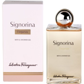 Salvatore Ferragamo Signorina Eleganza tusfürdő nőknek 200 ml
