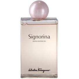 Salvatore Ferragamo Signorina Duschgel für Damen 200 ml