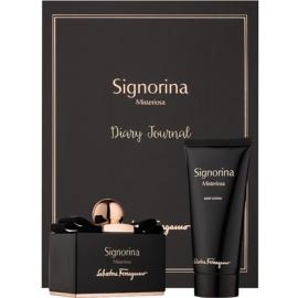 Salvatore Ferragamo Signorina Misteriosa dárková sada I. parfémovaná voda 100 ml + tělové mléko 100 ml