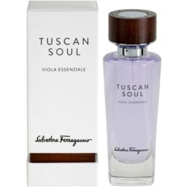 Salvatore Ferragamo Tuscan Soul Quintessential Collection Viola Essenziale Eau de Toilette unisex 75 ml
