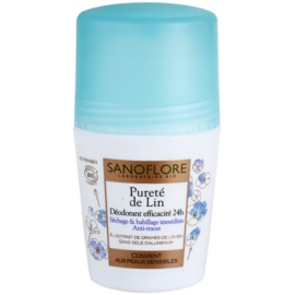 Sanoflore Déodorant Desodorizante Roll-On sem amoníaco 24 h  50 ml