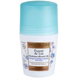 Sanoflore Déodorant dezodorant roll-on bez obsahu hliníka 24h  50 ml