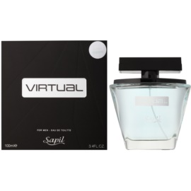 Sapil Virtual Eau de Toilette für Herren 100 ml