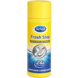Scholl Fresh Step zásyp na nohy a do topánok proti zápachu a poteniu  75 g