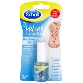 Scholl Velvet Smooth ulei hranitor pentru unghii  7,5 ml