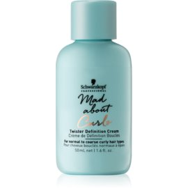 Schwarzkopf Professional Mad About Curls crema hidratante enriquecida para cabello ondulado  50 ml