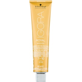 Schwarzkopf Professional IGORA Royal Absolutes farba do włosów odcień 7-10 60 ml