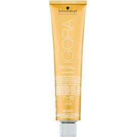 Schwarzkopf Professional IGORA Royal Absolutes barva na vlasy odstín 7-10 60 ml