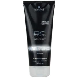 Schwarzkopf Professional BC Bonacure Fibreforce Shampoo For Extremely Damaged Hair  200 ml