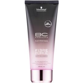 Schwarzkopf Professional BC Bonacure Fibreforce Energising Shampoo For Damaged Hair  200 ml