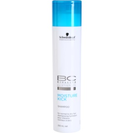 Schwarzkopf Professional BC Bonacure Moisture Kick Moisture Kick Shampoo For Normal To Dry Hair   250 ml