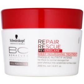 Schwarzkopf Professional BC Bonacure Repair Rescue nährende Tiefenpflege für beschädigtes Haar  200 ml