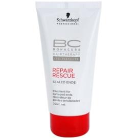 Schwarzkopf Professional BC Bonacure Repair Rescue інтенсивна сироватка для волосся з посіченими кінчиками  75 мл