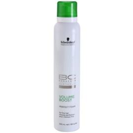 Schwarzkopf Professional BC Bonacure Volume Boost zdokonalující pěna pro jemné vlasy  200 ml