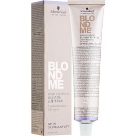 Schwarzkopf Professional Blondme zesvětlující krém pro blond vlasy odstín L - Ice  60 ml