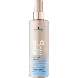 Schwarzkopf Professional Blondme farby w sprayu do włosów blond odcień Steel Blue  250 ml