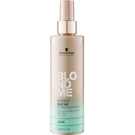 Schwarzkopf Professional Blondme coloração em spray para cabelo loiro e grisalho tom Jade  250 ml