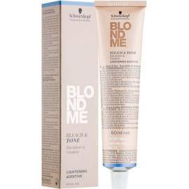 Schwarzkopf Professional Blondme aditivo iluminador y colorante tono B - Rosé  60 ml