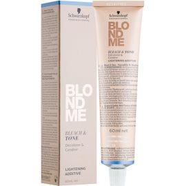 Schwarzkopf Professional Blondme Нейтралізуючий тонер для знебарвлення відтінок B - Cool  60 мл