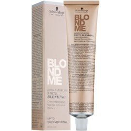 Schwarzkopf Professional Blondme posvetlitvena krema za prekrivanje belih las odtenek W- Irise  60 ml