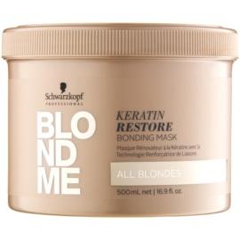 Schwarzkopf Professional Blondme megújító maszk a szőke minden árnyalatához  500 ml