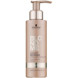 Schwarzkopf Professional Blondme tratamento intensivo para todos os tipos de cabelo loiro  150 ml