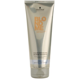 Schwarzkopf Professional Blondme stärkendes Shampoo für kalte Blondtöne  250 ml