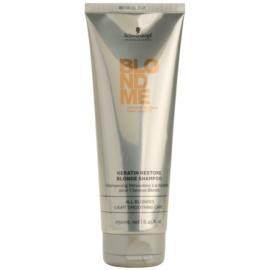 Schwarzkopf Professional Blondme keratynowy szampon regenerujący do włosów blond  250 ml