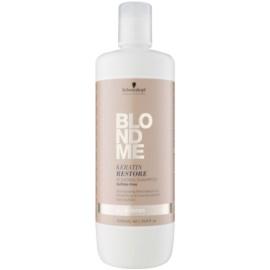 Schwarzkopf Professional Blondme obnovující šampon s keratinem pro všechny typy blond vlasů bez sulfátů  1000 ml