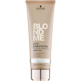 Schwarzkopf Professional Blondme szampon bez sulfatów do zimnych odcieni blond  250 ml