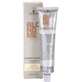 Schwarzkopf Professional Blondme Color  barva na vlasy pro přírodní blond odstíny (Natural Ice) 60 ml