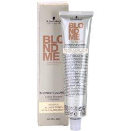 Schwarzkopf Professional Blondme Color barva za lase za naravne blond odtenke (Natural Sand) 60 ml
