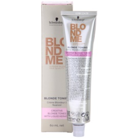 Schwarzkopf Professional Blondme Color tonirana krema odtenek Caramel  60 ml