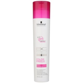 Schwarzkopf Professional BC Bonacure Color Freeze Rich Shampoo For Overprocessed Coloured Hair   250 ml