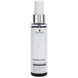 Schwarzkopf Professional BC Bonacure Excellium Beautifying spray z srebrnymi pigmentami w celu ożywienia blond i siwych włosów  100 ml
