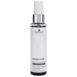 Schwarzkopf Professional BC Bonacure Excellium Beautifying sprej se stříbrnými pigmenty pro oživení a zjemnění barvy  bílých a stříbrných vlasů  100 ml