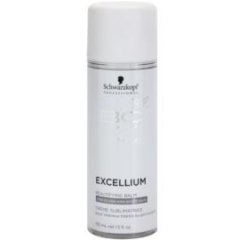 Schwarzkopf Professional BC Bonacure Excellium Beautifying bálsamo embelezador sem enxague para cabelos cinzentos e brancos  150 ml