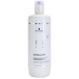 Schwarzkopf Professional BC Bonacure Excellium Beautifying zkrášlující šampon pro šedé a bílé vlasy  1000 ml