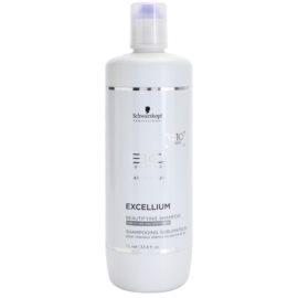 Schwarzkopf Professional BC Bonacure Excellium Beautifying Șampon de înfrumusețare pentru păr argintiu și alb  1000 ml