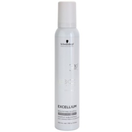 Schwarzkopf Professional BC Bonacure Excellium Beautifying  suflê de beleza para o cabelo cinzento e branco  200 ml