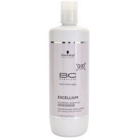 Schwarzkopf Professional BC Bonacure Excellium Plumping champô  para cabelos maduros e  finos  1000 ml