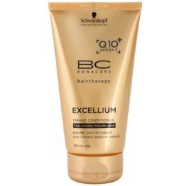 Schwarzkopf Professional BC Bonacure Excellium Taming condicionador para cabelos maduras e oleosos  150 ml