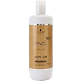 Schwarzkopf Professional BC Bonacure Excellium Taming champú para cabello grueso y maduro  1000 ml