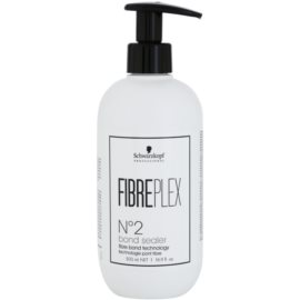 Schwarzkopf Professional FibrePlex N°2 Bond Sealer глибокий догляд для знебарвленого, освітленого та фарбованого волосся  500 мл